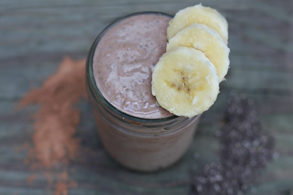 Banana Cashew Butter Smoothie by BeingBrigid