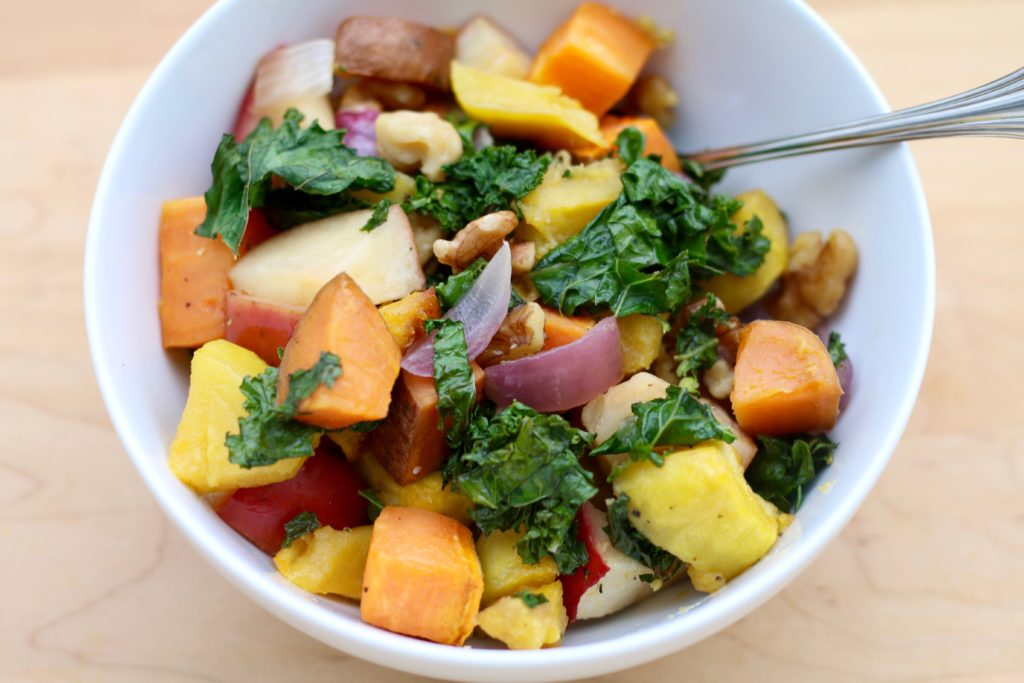 Grandpa's Roasted Vegetable Medley from Brigid Titgemeier of beingbrigid.com