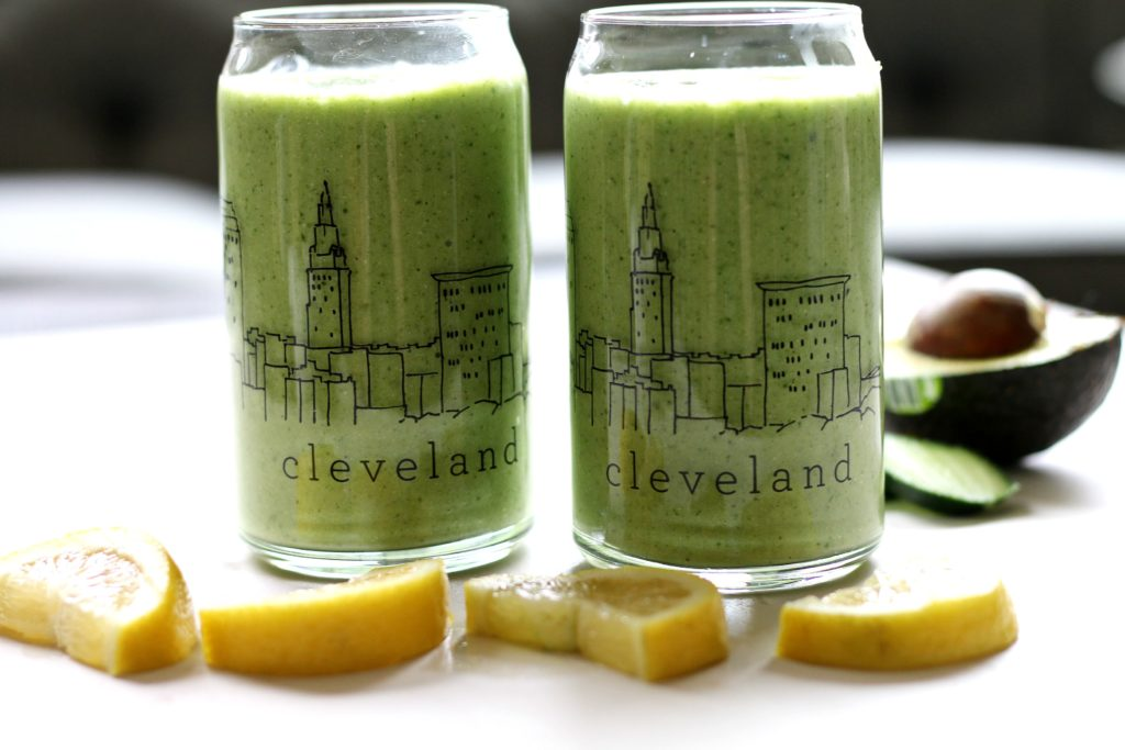 Green spinach smoothie by BeingBrigid