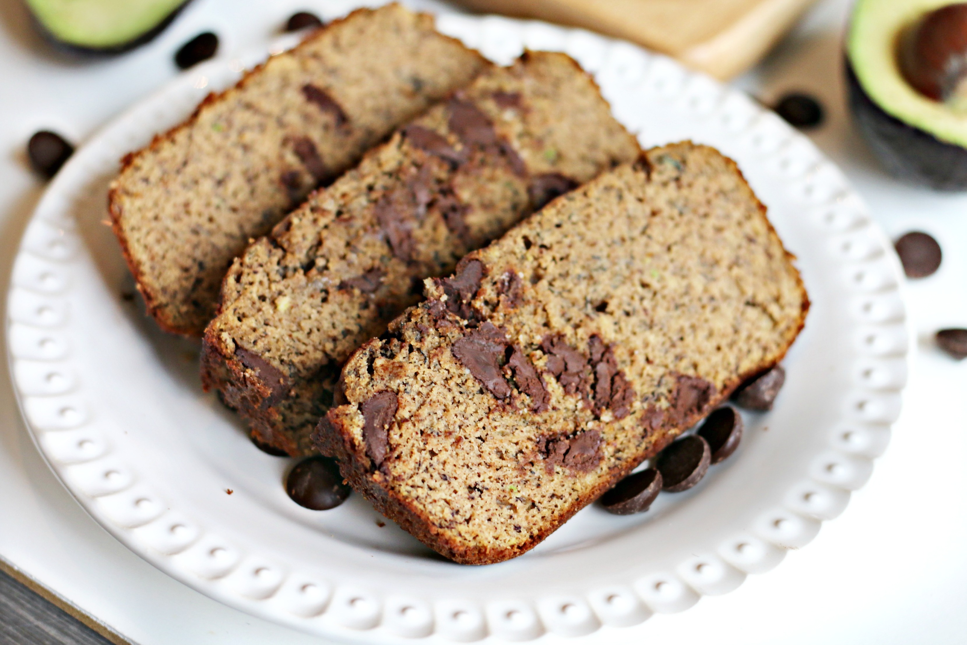 Chocolate Banana Cream Grain-free Bread from BeingBrigid