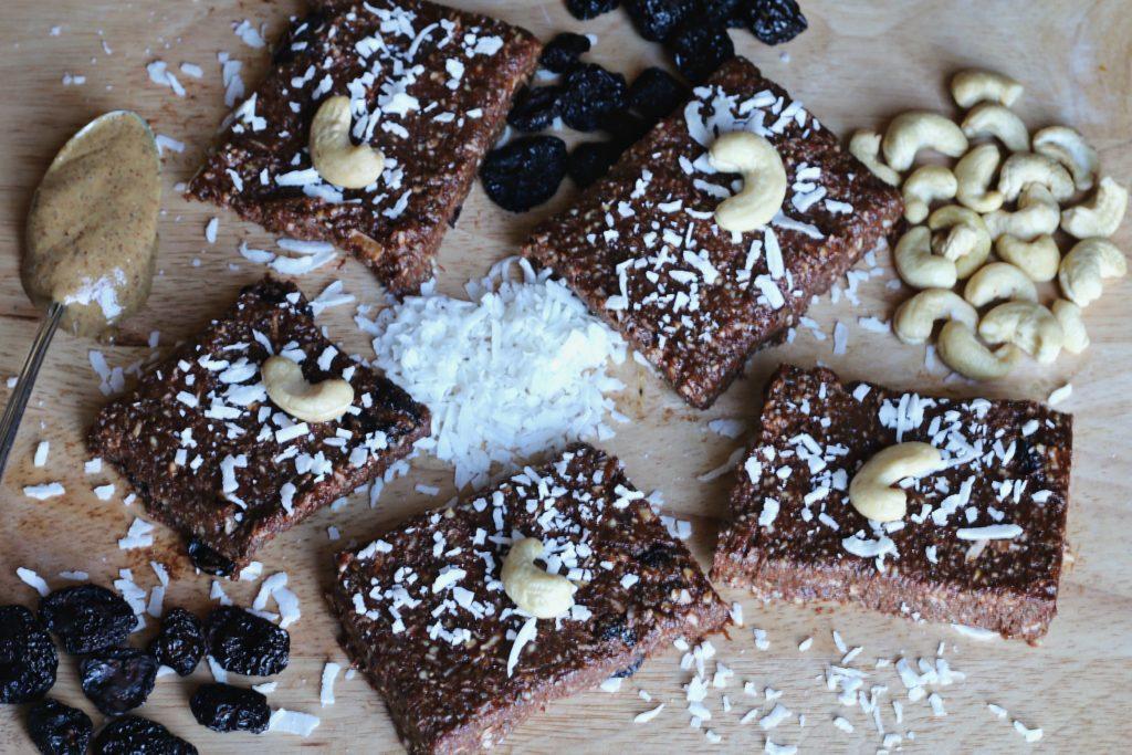 Cherry Chocolate Energy Bars by BeingBrigid