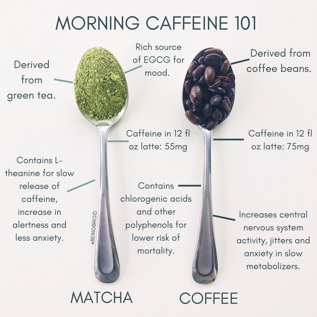 Morning Caffeine 101: Is Matcha Better Than Coffee